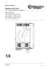 Alimentation de Rail 16 kW 80 A / 125 A sous 400-415 V / 480/277 V