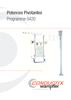 Potences Pivotantes Programme 0420