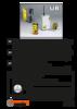 Ultra-compact industrial enhanced-safety radio remote control [FR   EN   DE]