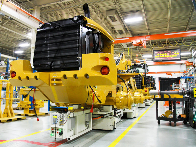 Automated Guided Vehicles Assembly Line For Construction