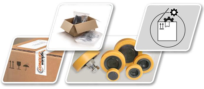 Wisselstukken - Reparatieonderdelen - Service - Conductix-Wampfler