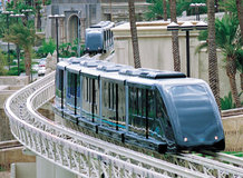 """Transfer between the hotels """"Excalibur"""", """"Luxor"""" and """"Mandalay Bay Resort"""" in Las Vegas [cable liner system   DCC]"""