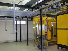 Conductix-Wampfler has a great knowledge in the construction of Overhead Monorail Systems